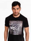Black Tee shirt - Cotton