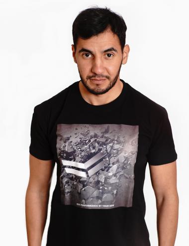 Tshirt noir - Coton