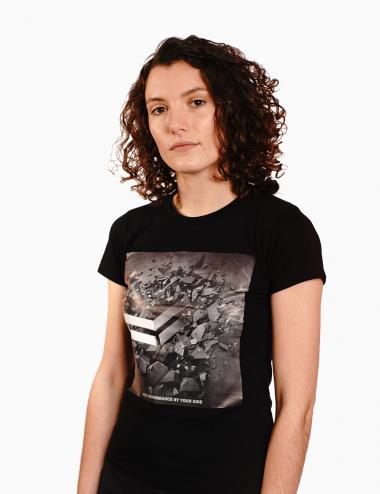 Maglietta nera - Cotone