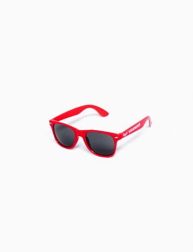 Plastic sunglasses red
