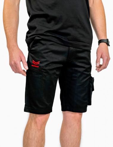 Multi-pocket work shorts