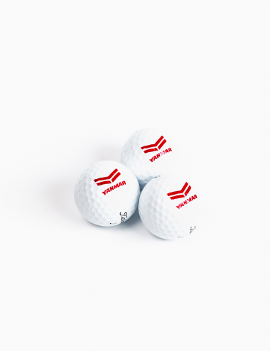 Trio von Golfbällen