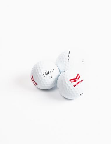 Trio di palline da golf